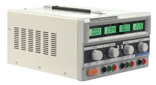 Labornetzgerät McPower ''Digi 302-03'' 2x 0-30V, 0-3A, 1x 5V/3A