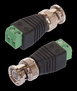 Adapter BNC-Stecker, 2er-Set