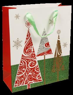 Geschenktüte für Weihanchten 27x10x33cm