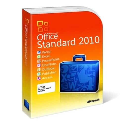 Office 2010 Standard 32/64 Bit (VL-ESD-DE)
