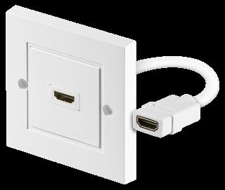 HDMI-Wanddose 1x A-Buchse