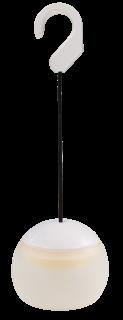 LED Hängeleuchte, 4x LED, Silikon Schirm, Batterie betrieben