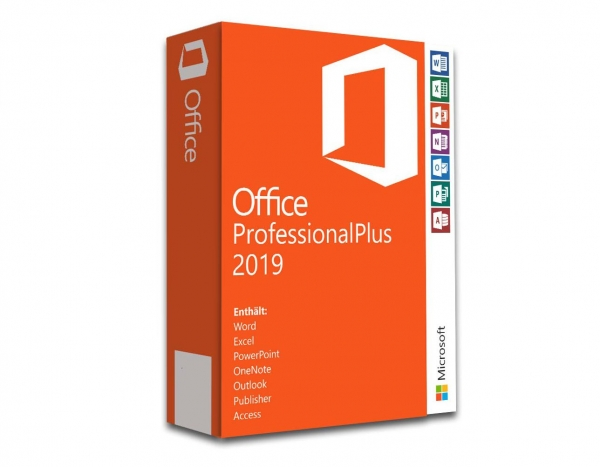 Microsoft Office 2019 Professional Plus 32/64 Bit (Aktivierung: office.com)