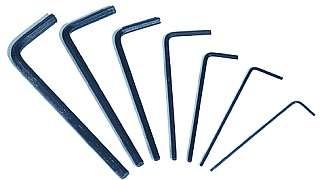 Innensechskantschlüssel-Set McDrill ''Mini-7'', 7-teilig, 0,7-3 mm