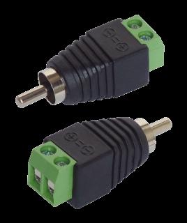 Adapter Cinch - RCA-Stecker, 2er-Set