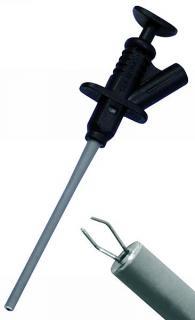 Klemmprüfspitze McPower ''PS 45'', 4 mm Buchse, schwarz