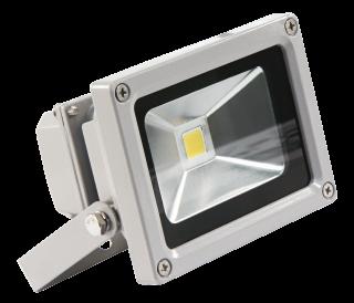 LED-Außenstrahler McShine, 10W, IP65, 900Lm, 3000K, warmweiß