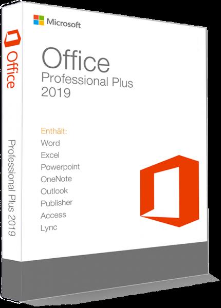 Microsoft Office 2019 Professional Plus 32/64 Bit -VL