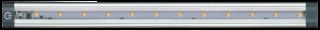 LED Unterbauleuchte McShine ''SH-30S'' 3W, 250Lm, 30cm, warmweiß, mit Schalter
