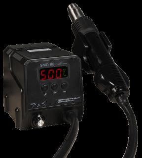 SMD Heißluft-Lötstation McPower ''SMD-98'', 300W, 100-500°C, inkl. 3 Aufsätzen