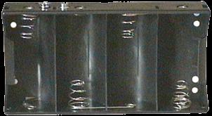 Batteriehalter für 4 Monozellen