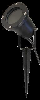 Gartenleuchte McShine ''GL-35'', 1m Kabel, Erdspieß, GU10-Fassung