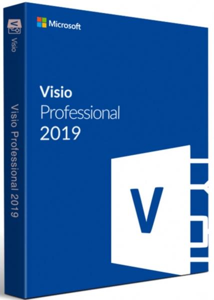 MS Visio 2019 professional 32/64 Bit Retail ESD