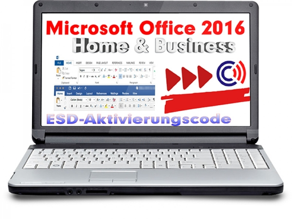 MS Office 2016 Home & Business (OEM) (Aktivierung: office.com)