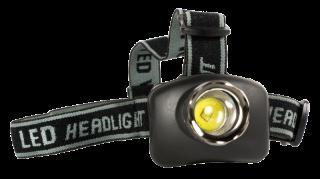 LED-Stirnlampe CAMELION, 3W LED, 4 Funktionen, fokussierbar, inkl. Batterien