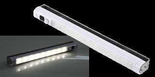 LED-Unterbauleuchte McShine, 9 SMD LED, 80Lm, Bewegungsmelder, weiß