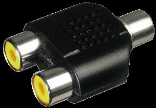 McVoice Audio-Adapter 2x Cinchkupplung > 1x Cinchkupplung