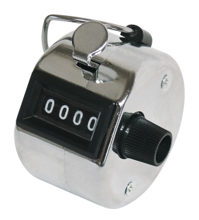 Mechanischer Handzähler, 0-9999