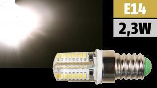 LED-Lampe McShine ''Silicia'' E14, 2,3W, 200lm, warmweiß