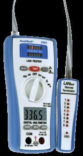 LAN-Tester mit Multimeter PeakTech ''3365''