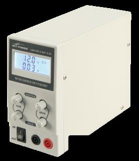 Labor-Netzgerät McPower ''LBN-303'' 0-30 V, 0-3 A regelbar, LC-Anzeige