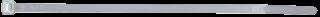 Kabelbinder-McDrill, naturfarben, 140x3,6 mm 100er-Beutel