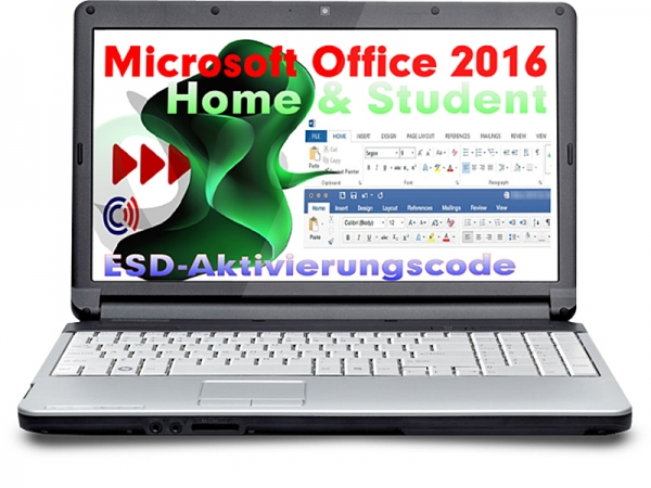 MS Office 2016 Home & Student (OEM) (Aktivierung: office.com)