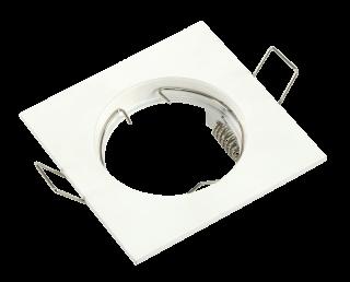 Einbaurahmen McShine ''DL-102'' weiß, 80x80mm, starr