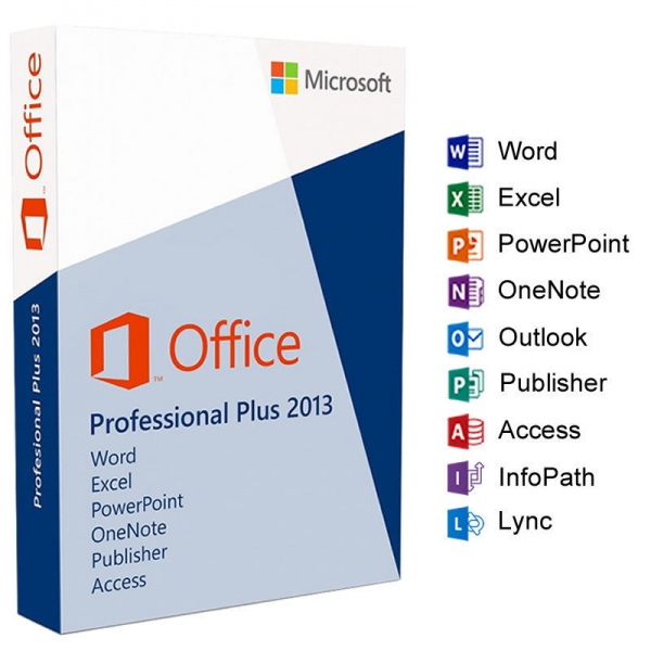 Office 2013 professional PLUS 32/64 Bit (OEM)