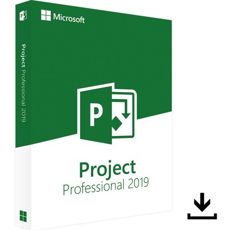 MS Project 2019 professional 32/64 Bit Retail ESD