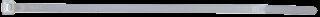 Kabelbinder-McDrill, naturfarben, 300x3,6 mm 100er-Beutel