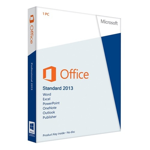 Office 2013 Standard 32/64 Bit (VL-ESD-DE)