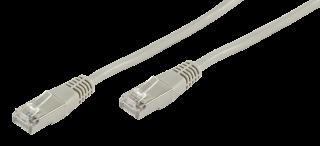 Netzwerk-Kabel CAT-6 Patchkabel 1,0m, für 1 GBit Netzwerke